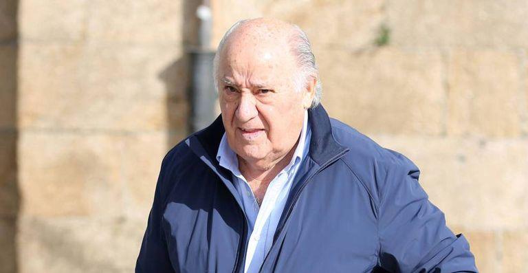 El fundador de Inditex, Amancio Ortega, en una imagen de archivo.