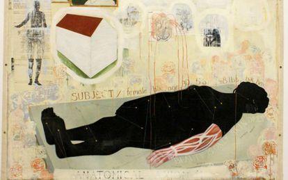 'Belleza examinada', collage de Kerry James Marshall (1993).