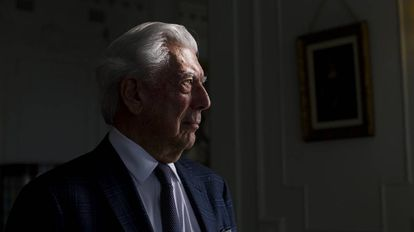 Mario Vargas Llosa en Santander.