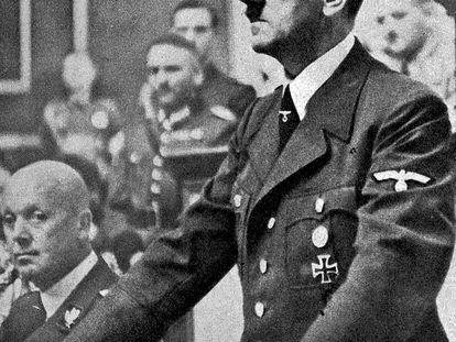 Adolph Hitler el 3 de septiembre de 1939.
