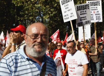 Ildefonso Rubio, funcionario del Ayuntamiento de Barbate, que adeuda las nóminas a su plantilla