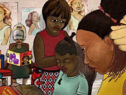 Fotograma del corto documental 'Yellow Fever', de la keniata Ng'endo Mukii.