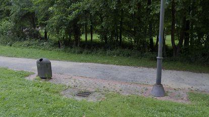 Parque Botánico de Amorebieta (Bizkaia), donde se produjo la agresión grupal al joven.