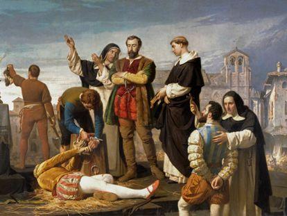 'Ejecución de los comuneros de Castilla' (1860), de Antonio Gisbert.