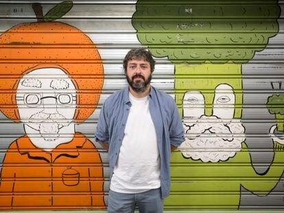 El director de cine Víctor García León, esta mañana, en Málaga.