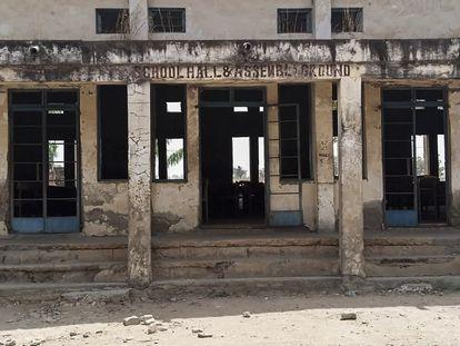 Escuela de Kagara donde fueron secuestradas 42 personas el pasado 17 de febrero, en el estado nigeriano de Níger.