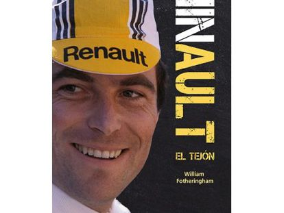 Portada de la biografía de Bernard Hinault.