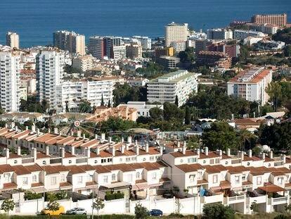 Viviendas en la costa de Benalmádena (Málaga).