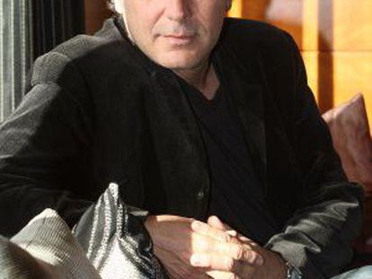 José Coronado en el hotel Málaga Palacio en 2008.