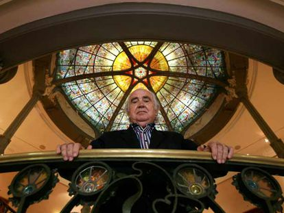El compositor Antón García Abril, en la sede de la Sociedad General de Autores y Editores (SGAE).