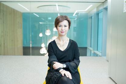 Mariangela Marseglia, vicepresidenta y directora general de Amazon en Italia y España.