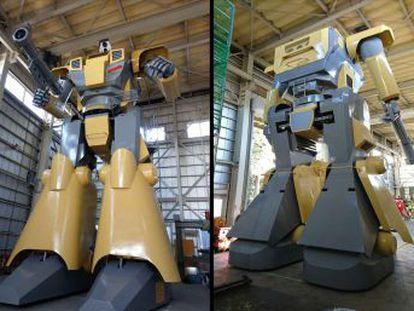 Una empresa japonesa alquila un androide tripulado de nueve metros para fiestas o eventos corporativos llamado LW-Mononofu