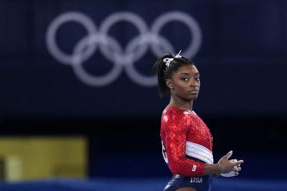 Simone Biles, durante los Juegos Olímpicos de Tokio.