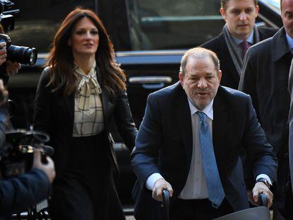 Harvey Weinstein, a su llegada a la corte de Nueva York, el pasado marzo.