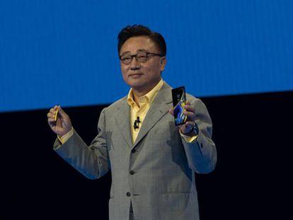 El presidente y consejero delegado de Samsung Electronics, Dong-Jin Koh.