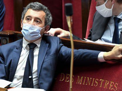 Gérald Darmanin en la Asamblea Nacional de París el viernes pasado.