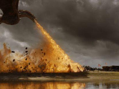 Fotograma de la séptima temporada de 'Juego de tronos'. En vídeo, tráiler de la séptima temporada.