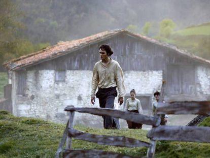 Fotograma de 'Handia', película con 13 nominaciones a los Premios Goya.