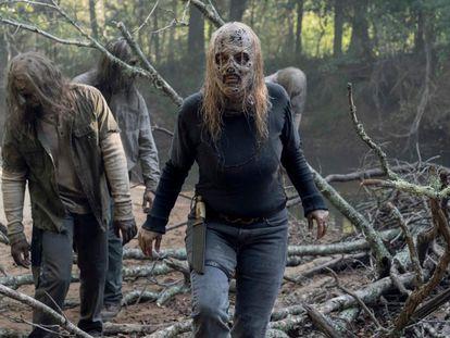 Una imagen de la décima temporada de 'The Walking Dead'.
