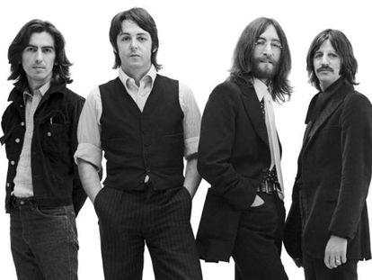 Los Beatles, en una imagen promocional de 1969.