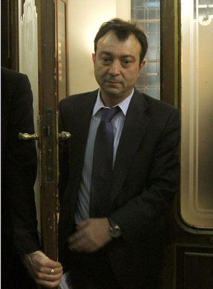 Manuel Cobo, en la sede consistorial de la Casa de la Villa.
