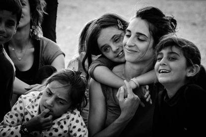 El pasado año, un 27% de todos los migrantes que solicitaron asilo en la UE fueron mujeres.