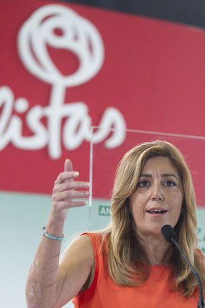 Susana Díaz, el pasado mes de septiembre.