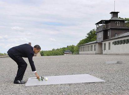 Obama ha llegado a Alemania en su primera parada europea tras su histórico discurso en El Cairo.