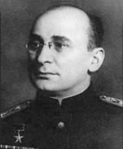Lavrenti Beria, el jefe de la NKVD durante la guerra.