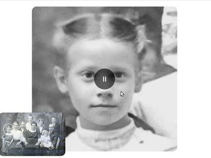 Retratos animados Deep Nostalgia basados en fotografías antiguas, de MyHeritage