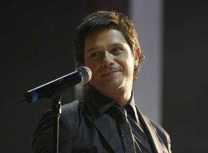 Alejandro Sanz, en una actuación.