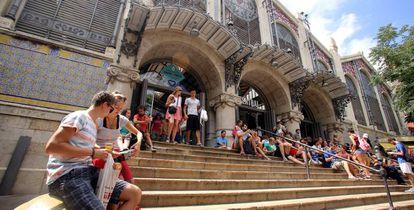 El Mercado Central de Valencia.