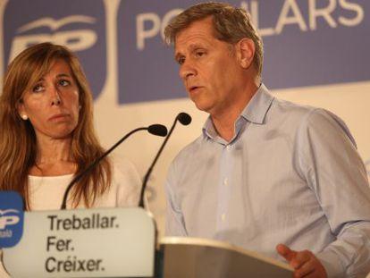 Alicia Sánchez-Camacho y Alberto Fernández Díaz.