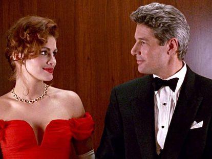 Julia Roberts y Richard Gere, en 'Pretty Woman'.