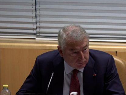 José Antonio Sánchez, en la Asamblea de Madrid.