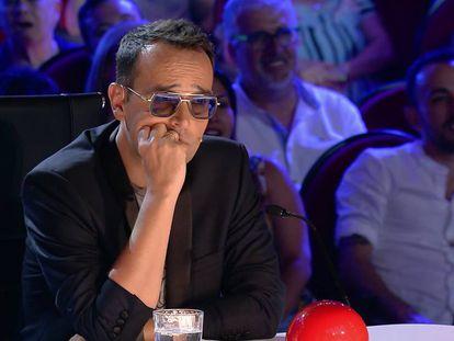 Risto Mejide, en su papel de jurado en 'Got talent'.