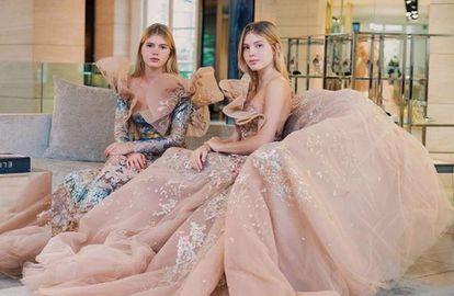 Victoria y Cristina Iglesias (derecha), en una imagen de su cuenta de Instagram.