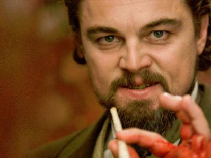 Leonardo DiCaprio, en 'Django desencadenado'.