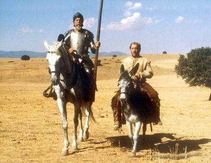 Fotograma de la miniserie 'El Quijote de Miguel de Cervantes', de RTVE.