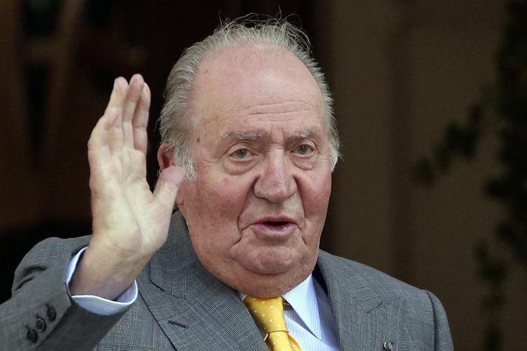 El rey Juan Carlos, en una imagen de 2018.