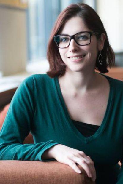 La investigadora del Instituto Max Planck de Antropología Evolutiva, Vivian Slon, autora principal del estudio
