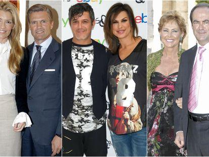Patricia Rato, Espartaco, Alejandro Sanz, Raquel Perera, Ana Rodríguez y José Bono.