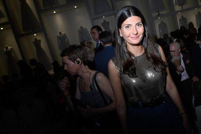 La estilista italiana Giovanna Battaglia.
