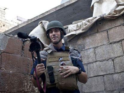 El periodista James Foley.