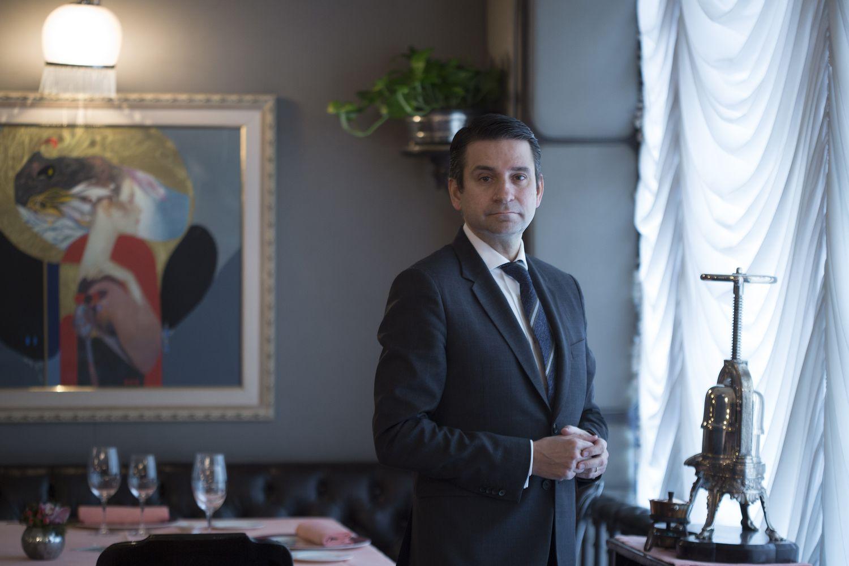 Pere Monje, director del restaurante Via Veneto, este jueves en Barcelona.