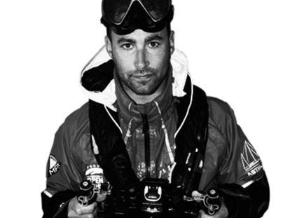 El cámara submarino Fernando Garfella, en una imagen de Bogar Films.