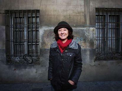 La escritora Maite Carranza, retratada el mes pasado en Alcalá de Henares.