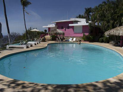 El Hotel Los Flamingos es actualmente uno de los más históricos y famosos del puerto de Acapulco, Guerrero.