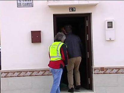 El hombre hallado muerto junto a su hija en Campillos fue condenado por maltrato