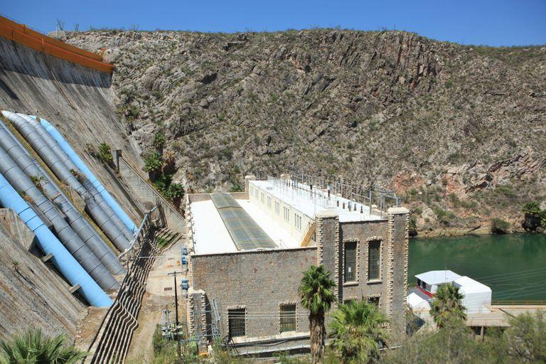 Vista de la presa La Boquilla, en Chihuahua, el 14 de septiembre.